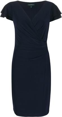 Polo Ralph Lauren Wrap-Style Cocktail Dress