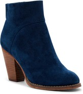 Sole Society Alexi Unlined Ankle Bootie