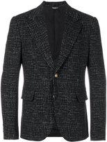 Dolce & Gabbana patterned blazer - men - Acrylic/Polyamide/Polyester/Virgin Wool - 48