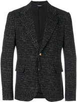Dolce & Gabbana patterned blazer - men - Acrylic/Polyamide/Polyester/Virgin Wool - 50