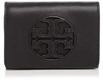 Tory Burch Miller Medium Leather Flap Wallet