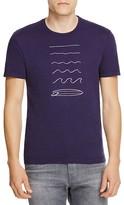 Velvet Wave Surf Board Graphic Tee