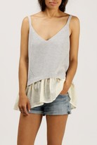 Azalea Double Layer Knit Tank