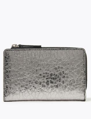Marks and Spencer Large Metallic Leather Coin Purse