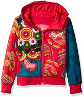 Desigual Big Girls' Sweater Dante, Fuchsia Rose