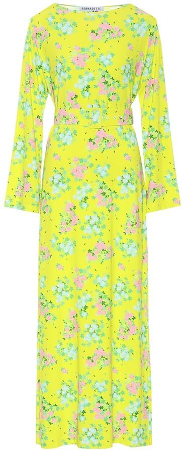MONICA Bernadette floral midi dress