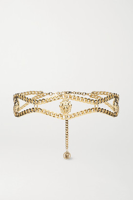 Alessandra Rich Gold-plated Belt - one size