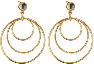 Genevive 14K Over Silver Earrings