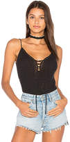 Central Park West Beafort Tank in Black. - size M (also in S,XS)