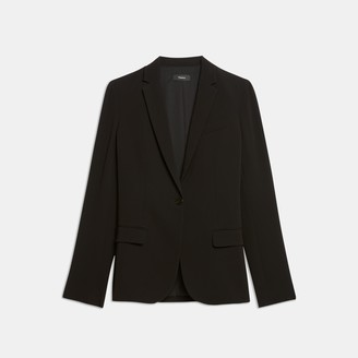 Theory Staple Blazer in Crepe