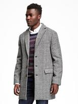 Old Navy Tweed Topcoat for Men