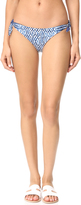 Mara Hoffman Listello Tie Side Bikini Bottoms