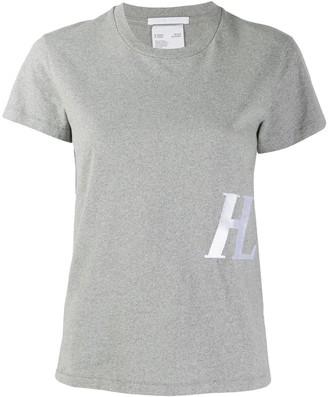 Helmut Lang monogram-embroidered T-shirt