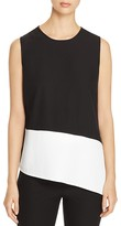 Calvin Klein Color Block Sleeveless Top