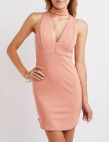 Charlotte Russe Choker Detail Bodycon Dress