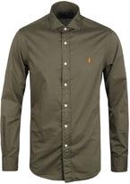 Polo Ralph Lauren British Olive Slim Fit Shirt