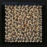 Bed Bath & Beyond 3D Paper Flower Shadow Box Wall Art