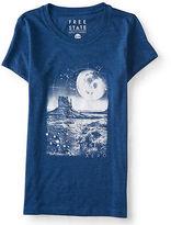 Aeropostale Womens Free State Desert Moon Graphic T Shirt