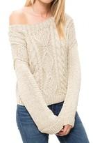 Smythe Handknit Shoulder Sweater
