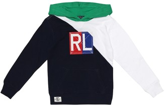 Polo Ralph Lauren Kids Embroidered cotton hoodie
