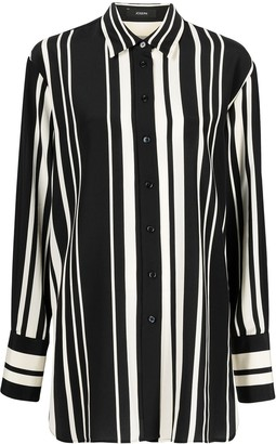 Joseph Striped Long Shirt