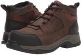 Ariat Telluride Work Waterproof Composite Toe (Distressed Brown) Men's Work Boots