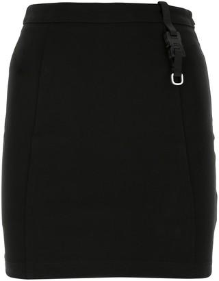 Alyx Buckle Detail Mini Skirt