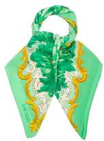 Escada Printed Square Scarf