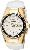 Technomarine Women's 'Cruise' Quartz Stainless Steel and Silicone Casual Watch, Color:White (Model: TM-115391)