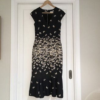 Suno Navy Cotton - elasthane Dresses