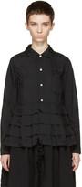 Comme des Garcons Black Ruffle Shirt
