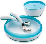 OXO Tot® 4-Piece Feeding Set in Aqua