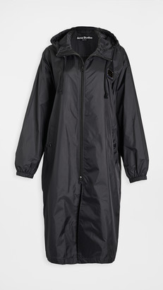 Acne Studios Ormes Plaque Face Outerwear