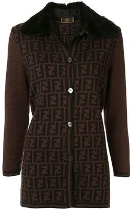 Fendi Pre-Owned Zucca pattern jacket