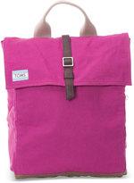 Toms Pink Waxed Canvas Trekker Backpack