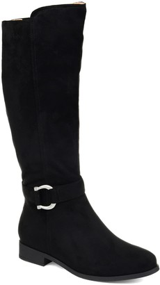 Journee Collection Cate Extra Wide Calf Boot