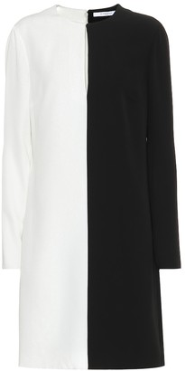Givenchy Two-tone crepe dress