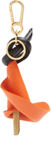 Loewe Calla lily leather key ring