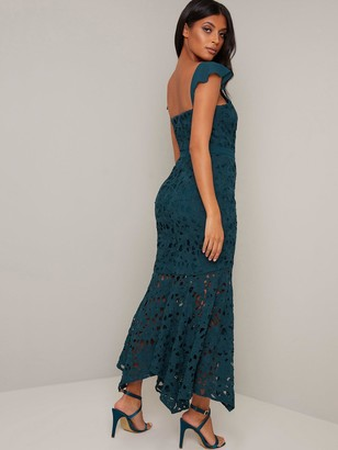 Chi Chi London Lupita Dress - Teal