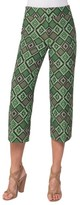 Akris Punto Women's Madison Print Jacquard Crop Pants