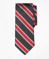 Brooks Brothers Bold Framed Split Stripe Tie