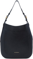 Burberry Black Small Elmstone Hobo Bag