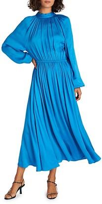 Rhode Resort Open-Back Midi Dress