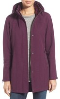 Kristen Blake Water Repellent Hooded Soft Shell Jacket (Regular & Petite)