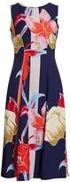 Etro Lily-Print Sleeveless Midi Dress