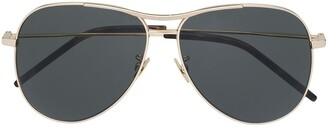 Saint Laurent Aviator Style Sunglasses