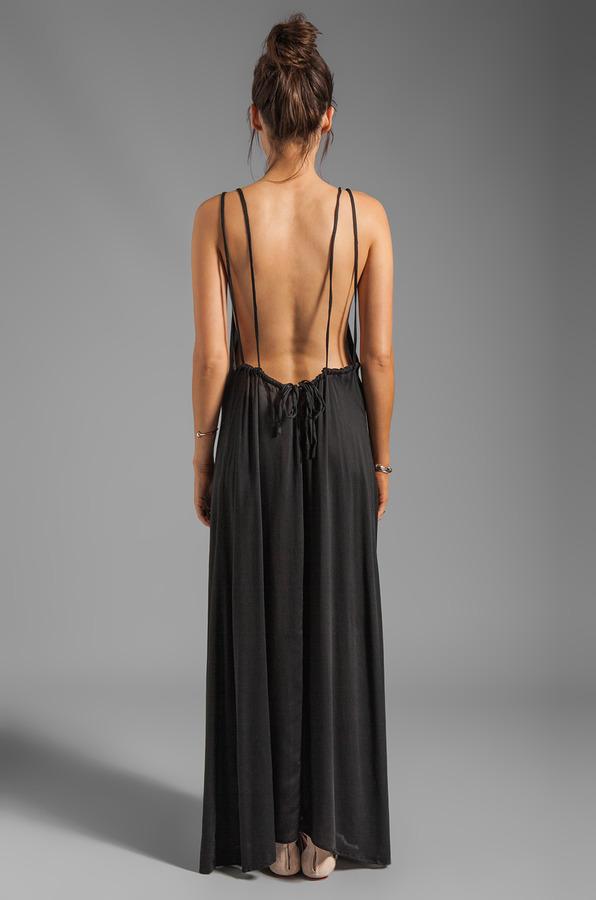 Acacia Swimwear Hana Backless Maxi Dress