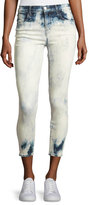 J Brand Jeans Alana Bleached High-Rise Skinny Ankle Jeans, Trance
