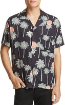 Wesc Nevin Palm Tree Slim Fit Button-Down Shirt