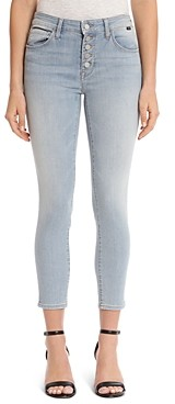 Mavi Jeans Tess Button-Up Jeans in Light Shaded